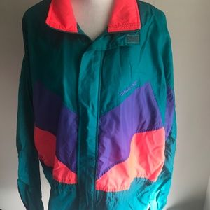 VINTAGE COLORFUL ADIDAS WINDBREAKER